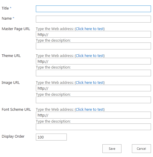 Creating SharePoint 2013 Composed Looks: Themes, Fonts
